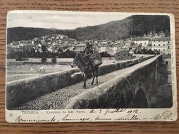 CPA, TAGGIA, Environs De San Remo, écrite En 1902 - Italy