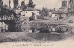 CPA : Kotori Le Grand (Montenegro Ex Serbie)  Pont Et Place Centrale  Campagne D'Orient - Montenegro