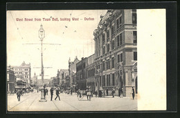 CPA Durban, West Street From Town Hall, Looking West - Südafrika