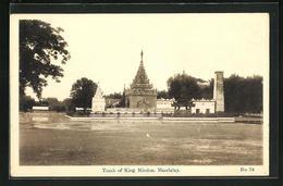 AK Mandalay, Tomb Of King Mindon - Postcards
