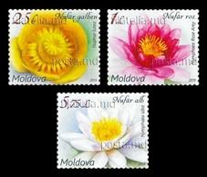 Moldova 2019 Mih. 1098/100 Definitive Issue. Flora. Flowers. Water Lilies MNH ** - Moldawien (Moldau)