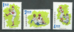 Taiwan YT N°767/769 Base-ball Neuf ** - 1945-... République De Chine