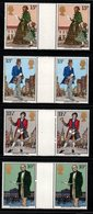 R418- GREAT BRITAIN. 1979 - SC#:871-874 - MNH - GUTTER PAIRS - ROWLAND HILL - Rowland Hill