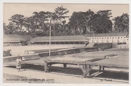 1624/ São Tomé E Príncipe. Instalaçâo Para Secagem De Cacau / Cacao (1928).- Non écrite. Unused. No Escrita. Non Scritta - Santo Tomé Y Príncipe