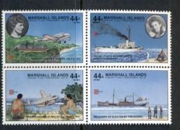 Marshall Is 1987 CAPEX, Amelia Erhardt Blk4 Muh - Marshall Islands