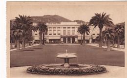 NICE. LES JARDINS ALBERT 1ER ET CASINO MUNICIPAL. ED GILLETA. CPA CIRCA 1940s - BLEUP - Nizza