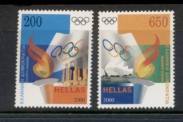 Greece 2000 Olympics Sydney-Athens MUH - Greece