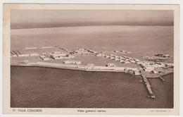 1625/ VILLA CISNEROS [DAKHLA], Spanish Colony. Vista Aérea. Air View.- Non écrite. Unused. No Escrita. Non Scritta - Sahara Occidental