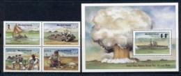 Marshall Is 1986 Atomic Bomb Teste Blk + MS Muh - Marshall Islands