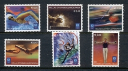 Greece 2004 Olympic Sports MUH - Greece