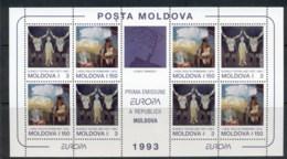 Moldova 1993 Europa, Contemporary Art MS MUH - Moldova