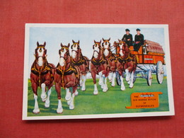 Wilson & Co Six Horse Hitch Of Clydesdales     Meat Packers    Ref 3332 - Advertising