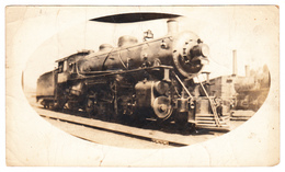 First (?) Engine To Richmond Quebec - Photo Picture By Dubuc Victoriaville - Condition : See 2 Scans - Trains
