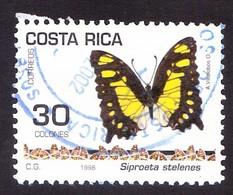COSTA RICA 1998 , BUTTERFLY - Costa Rica