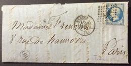 V316 Nantes Loire Inférieure PC 2221 + «OR» N°14 - 1849-1876: Classic Period