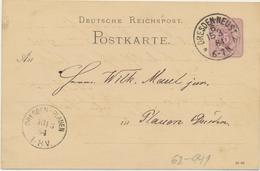 62-941 Deutschland Germany Postal Stationery 1884 - Non Classificati