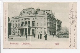 CPA SLOVAQUIE POZSONY Theater - Slovacchia