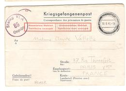 16967 -  STALAG VI A HEMER - Poststempel (Briefe)
