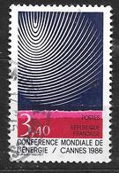 FRANCE 2445 Conférence Mondiale De L'Energie à Cannes - France