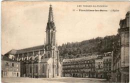61hg 133 CPA - PLOMBIERES LES BAINS - L'EGLISE - Plombieres Les Bains