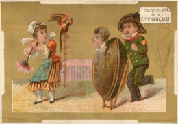 CHROMO CHOCOLAT DE LA COMPAGNIE FRANCAISE BERTHET A AUXERRE IMP. MERTENS - Chocolate