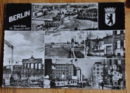 Berlin Nach Dem 13. August 1961 - Brandenburger Tor - Berauer Str. - Postdamer Platz ... - (n°15047) - Alemania