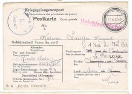 16986 - STALAG  VI A HEMER - Poststempel (Briefe)