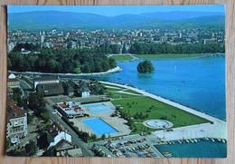 74 : Annecy - Les Marquisats - Le Lac Et La Ville - Vue Aérienne - Piscine - (n°15050) - Annecy