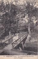 GRANGES SUR VOLOGNE                                    La Passerelle Des Baumes Sur La Vologne - Granges Sur Vologne