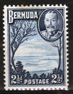 Bermuda George V 2½d Single Stamp From The 1936 Definitive Set. - Bermuda