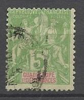 Guadeloupe  Le N° 40     Oblitéré   B/ TB   Soldé à Moins De  20 %  ! ! ! - Used Stamps