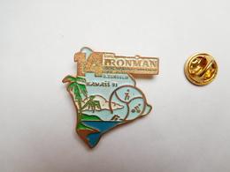 Beau Pin's En Relief , 14e Ironman , Triathlon World Championship , D. Dumoulin , Hawaï 1991 , Cyclisme , Natation - Wielrennen