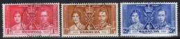 Bermuda George VI  Set Of Stamps To Celebrate The Coronation Of 1937. - Bermuda