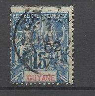 Guyane   Poste   N°  35  Oblitéré      B/T B   Soldé à Moins De  20  %      ! ! ! - Used Stamps