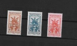 Martinique N° 23 à 25** TAXE - Martinique (1886-1947)