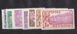Réunion N°109 à 116** Sans Le 114 - Réunion (1852-1975)