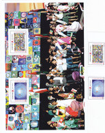Oman New Issue 2019,Peace From Children 2v.+ Large Souv.sheet Compl.MNH- Skrill Payment ONLY - Oman