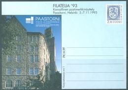FINLAND - 1993 - POSTKARTE 1 - FILATELIA  -  Lot 19446 - Postal Stationery