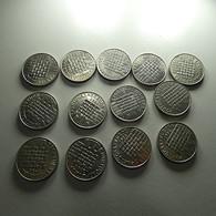 Portugal 13 Coins 25 Escudos 1986 Europa - Munten & Bankbiljetten