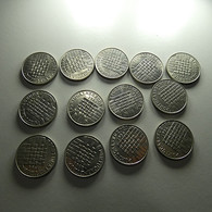 Portugal 13 Coins 25 Escudos 1986 Europa - Kilowaar - Munten