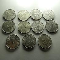 Portugal 11 Coins 25 Escudos 1981 Ano Internacional Do Deficiente - Lots & Kiloware - Coins