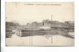 59 - DUNKERQUE - Le Canal De Mardyck Et Les Bains Dunkerquois - Dunkerque