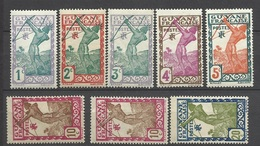 Guyane   Poste   N° 109  à  113; 113a  ;  115 Et 157   Neufs * Et Neufs * *    B/T B   Soldé à Moins De  20  %    ! ! ! - Unused Stamps