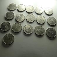 Portugal 16 Coins 25 Escudos 1977 Centenário Da Morte De Alexandre Herculano - Munten & Bankbiljetten