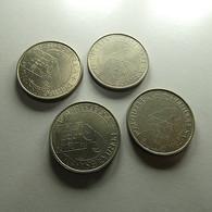 Portugal 4 Coins 25 Escudos 1984 10 Anos 25 Abril - Lots & Kiloware - Coins