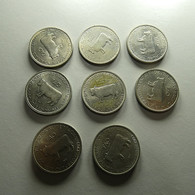 Portugal 8 Coins 5 Escudos 1983 FAO - Lots & Kiloware - Coins