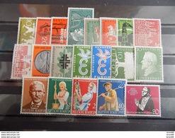 Année Complète 20 Timbres Neuf Allemagne République Fédérale (RFA) 1958 - Nuevos
