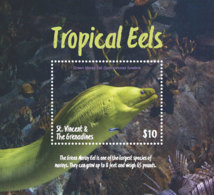 St. Vincent 2018 Fauna  Tropical Eels  I201901 - St.Vincent & Grenadines