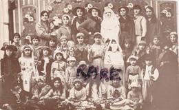 CARTE PHOTO,27,EURE,GISORS,FETE,ENFANT,PIECE DE THEATRE,RARE - Gisors