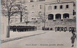 GIBRALTAR -- Church Parade - Gibraltar